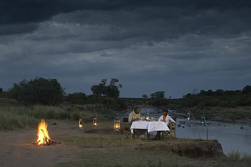 Mara Serena Lodge in der Masai Mara in Kenia