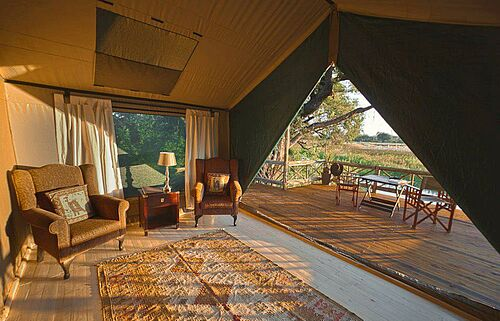 Botswana, Best Value, Safari, Okavango, Delta, Unterkunft, Pom Pom Camp